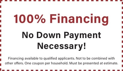 coupon for 100% financing with BZ dependable