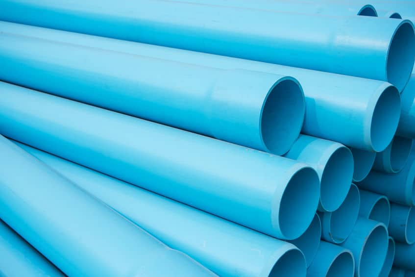pvc pipes for main water line